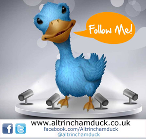 Follow the Altrincham Duck